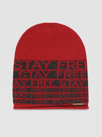 Wool blend Stay Free hat