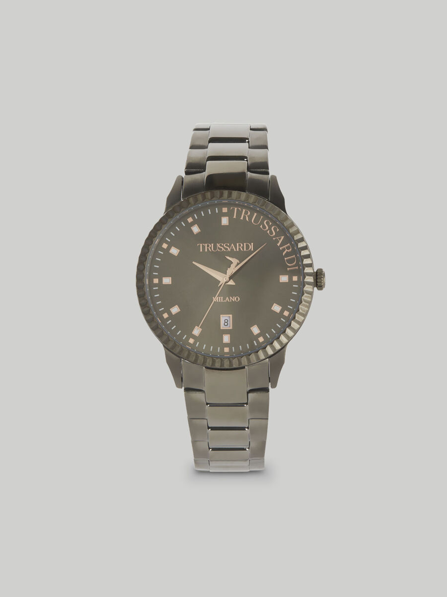 Reloj T-Bent 43MM con pulsera de acero
