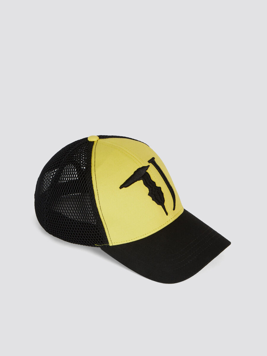 Two tone baseball cap with peak