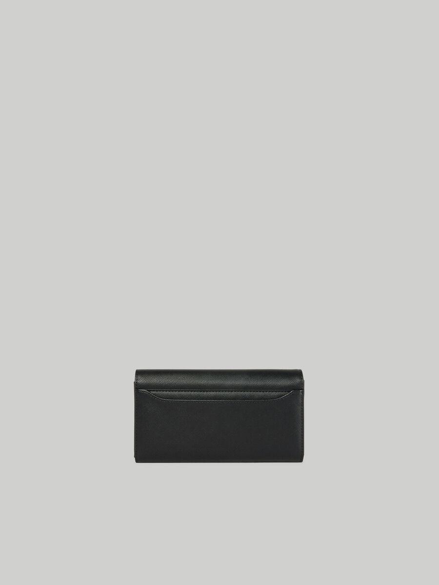 Klassische Geldboerse Dahlia aus Saffian-Kunstleder