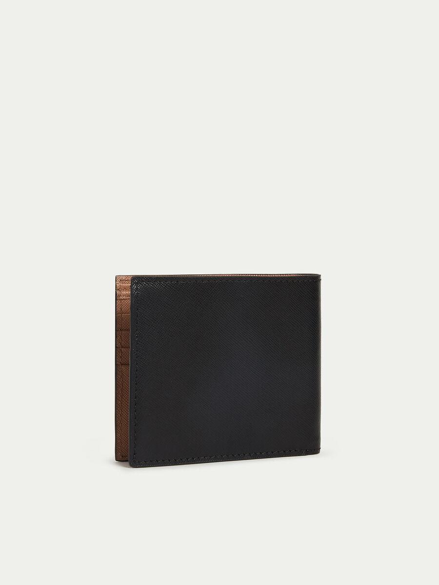 Kartenetui aus Leder mit Saffian Print