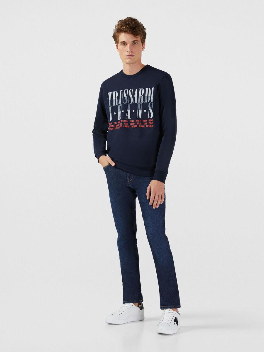 Jeans 370 Extra Slim aus elastischem Fiona Denim