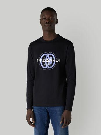 Langarm-T-Shirt aus Jersey