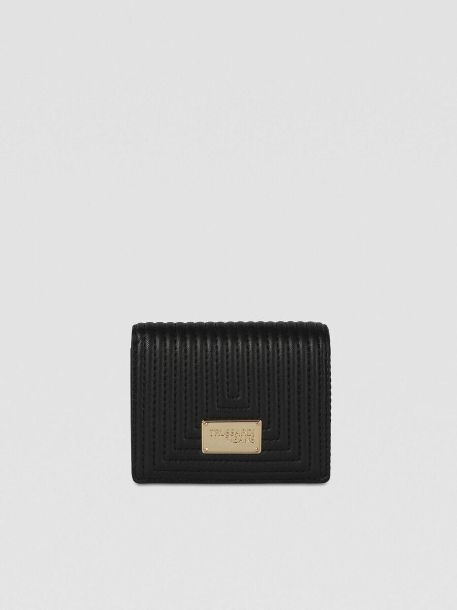 Medium Frida continental purse in faux leather