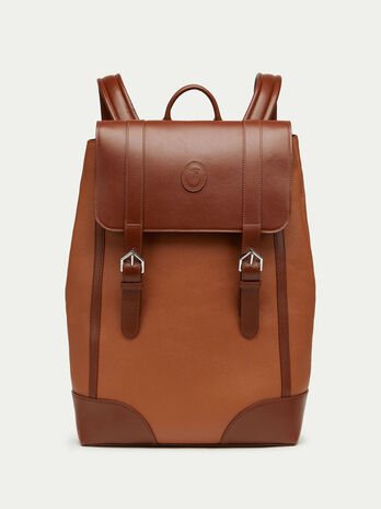 Tresor and Crespo leather backpack