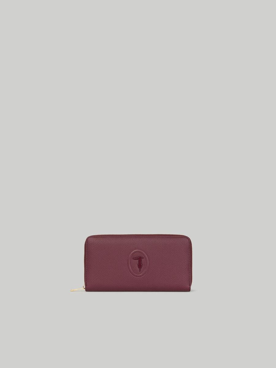 Lisbona purse with deerskin print