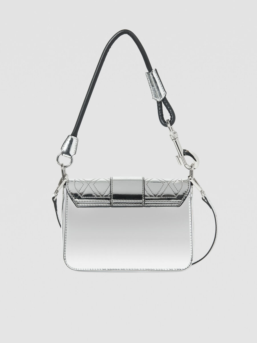 Medium With Love shoulder bag in quilted faux leather