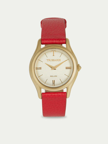 Montre T-Light a bracelet en cuir