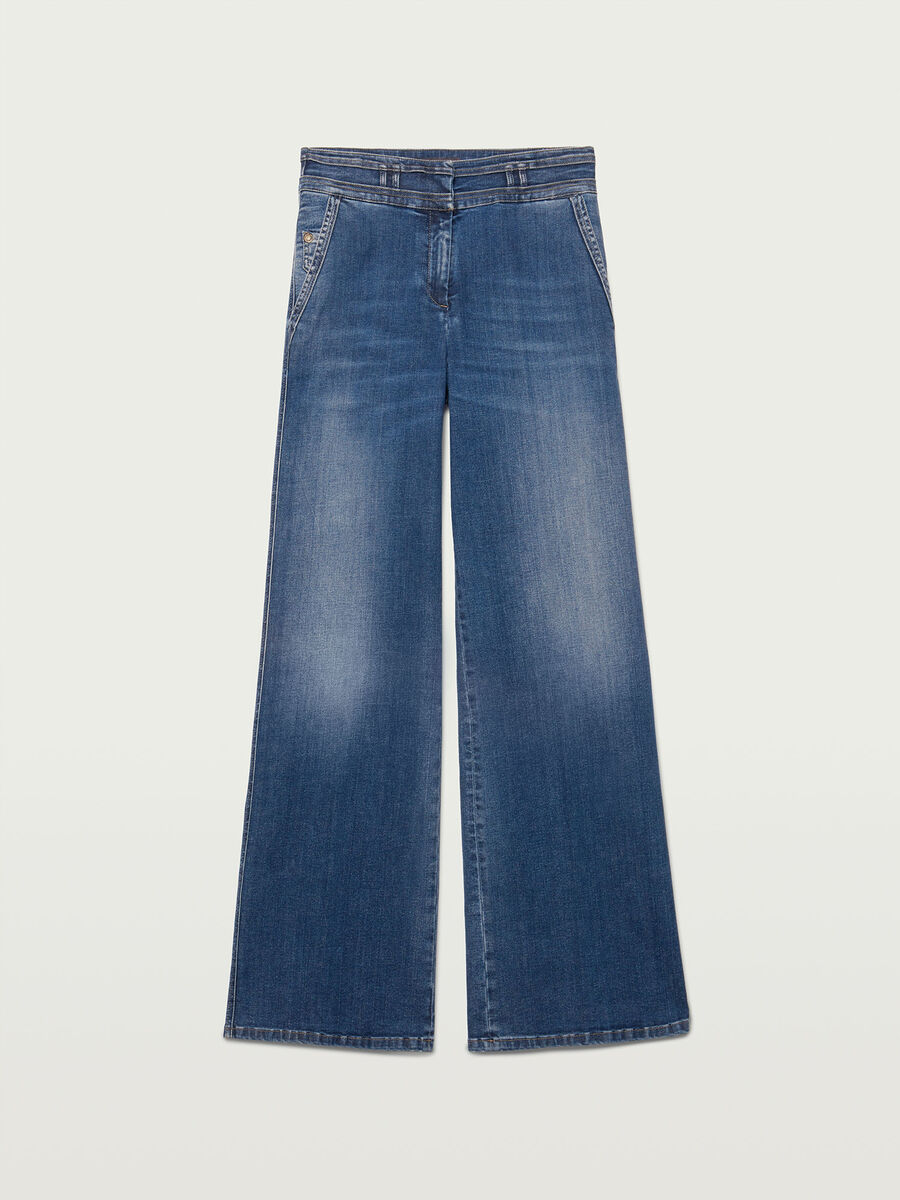 Jeans Palazzo Fit