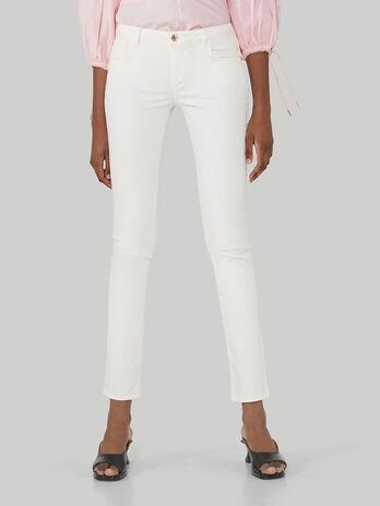 Pantalon 260 coupe classique en gabardine stretch