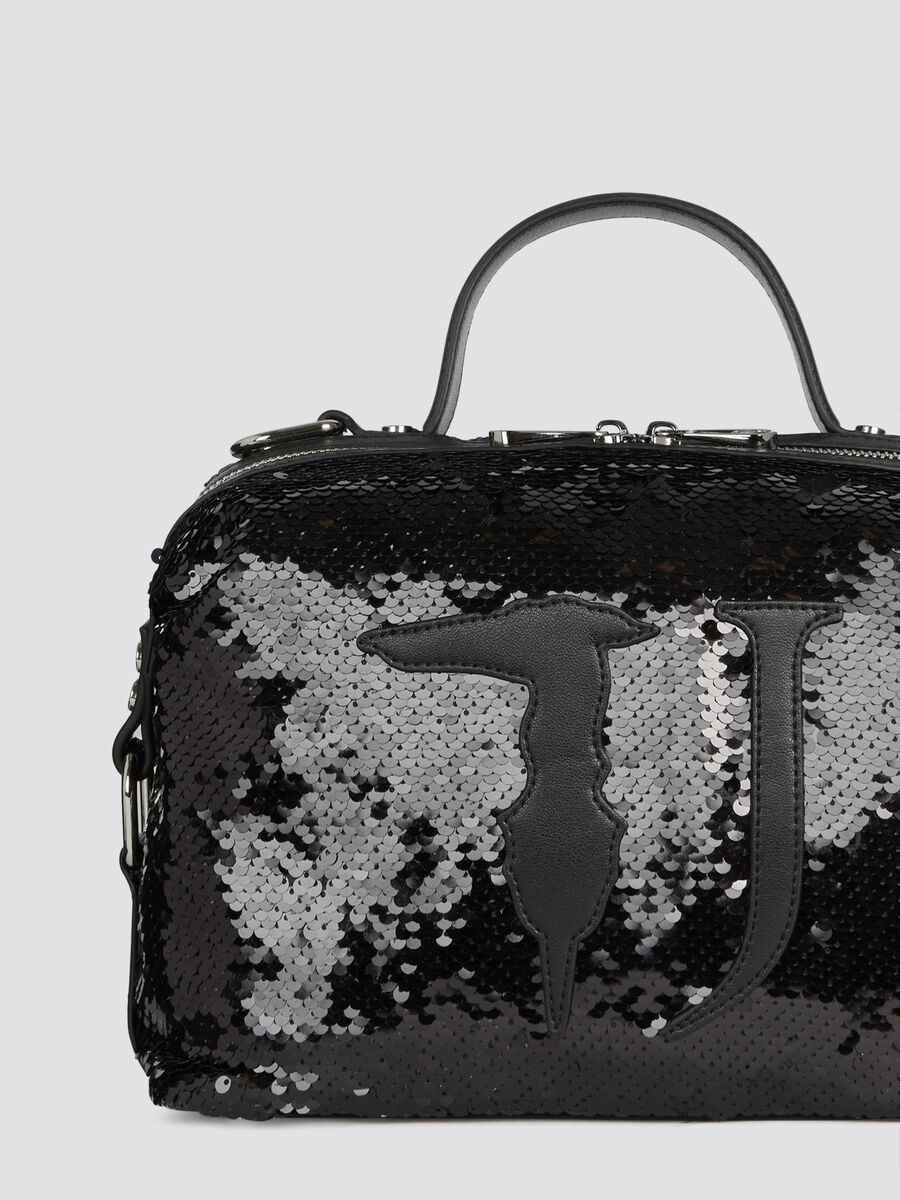 Henkeltasche T-Wow Night Small mit Pailletten