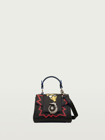 Lovy mini bag with emoticon