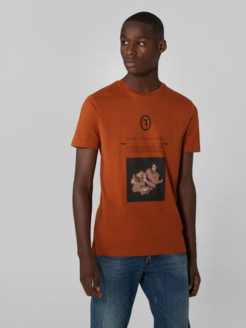 Boxy fit pure cotton T-shirt