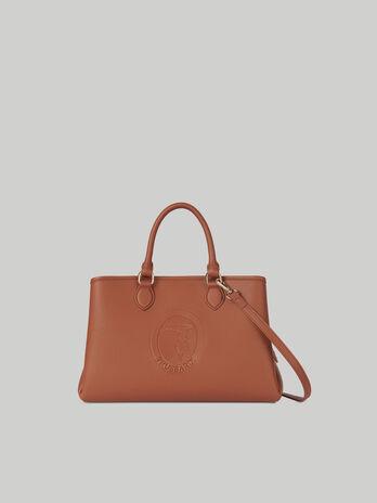 Medium Iris tote bag in faux leather