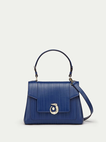 Regular Lovy Bag in striped tresor Calfskin
