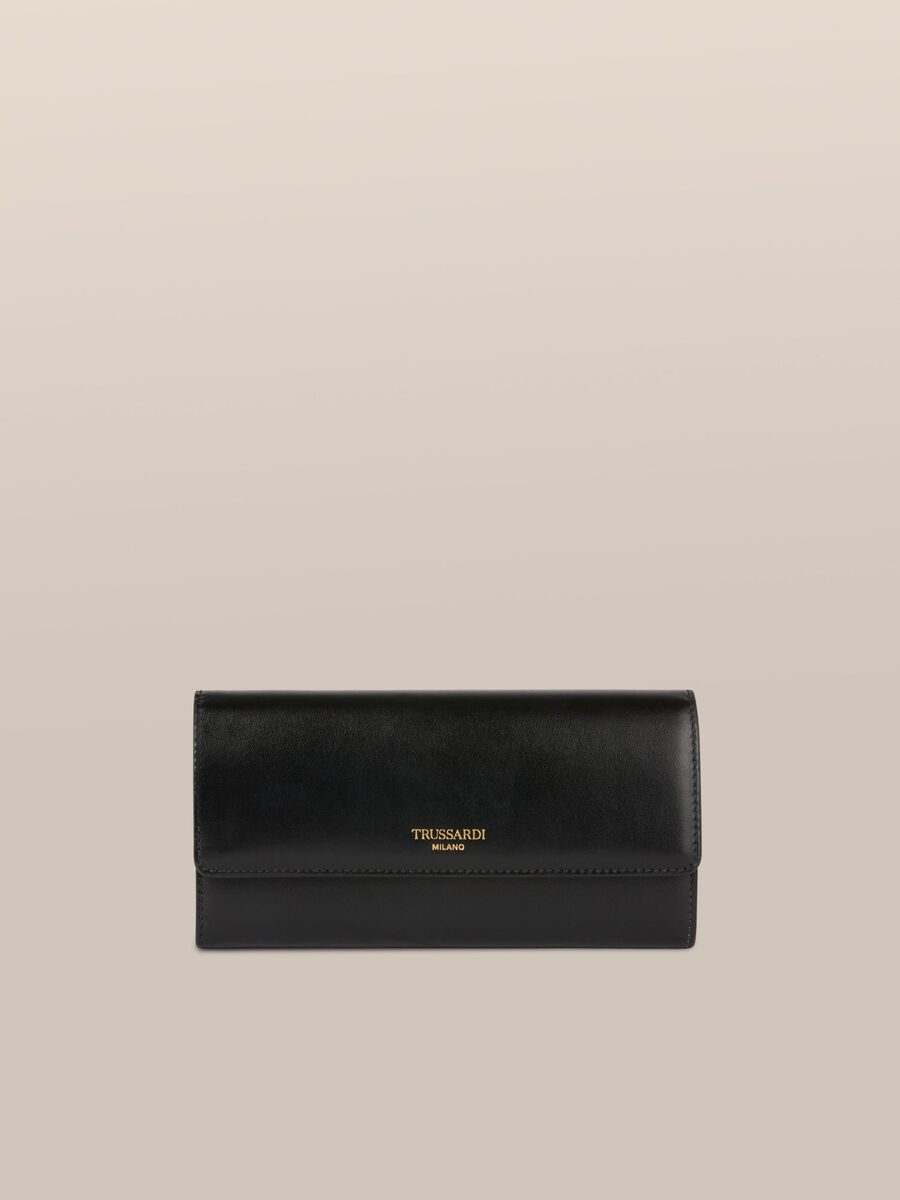 Bianca continental purse in elite leather