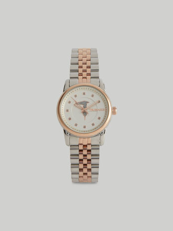30-mm T-Joy watch with steel strap