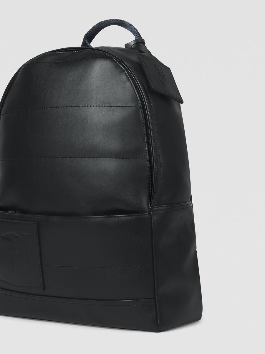 Medium faux leather Tici backpack