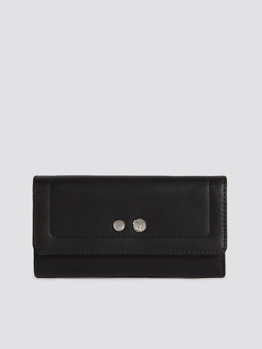 Large With Love city bifold purse in faux leather