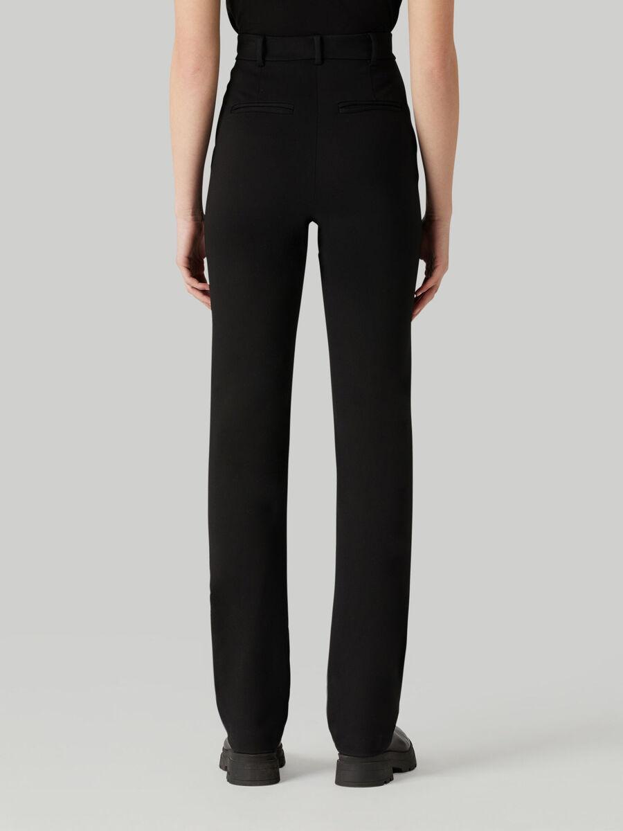 Pantalone in jersey compatto
