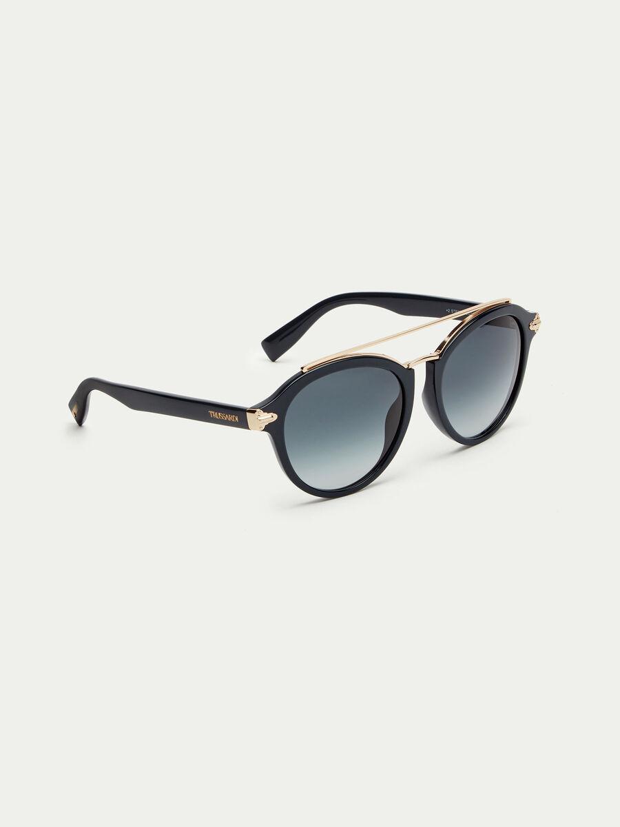 Gafas de sol con puente de varillas