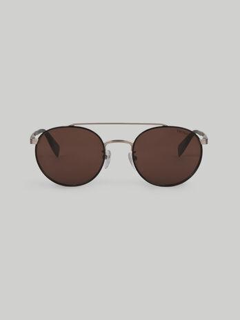 Gafas de sol redondas de metal