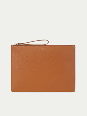 Mini borsa in raffinata pelle willer con zip