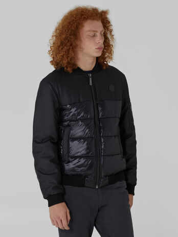 Light nylon bomber jacket