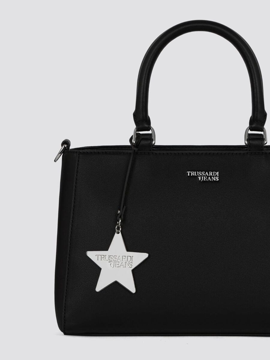 Mittelgrosse Handtasche T-Easy Star aus Kunstleder