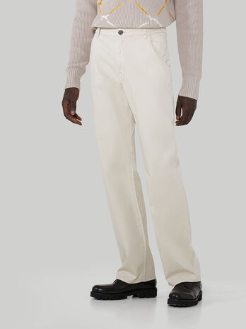Jeans 911 Araldic aus Baumwoll-Trikotine