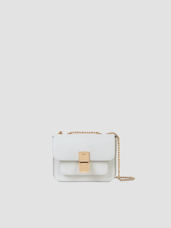 Small faux leather Lione crossbody bag
