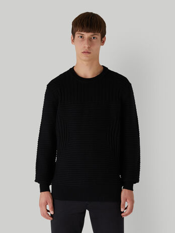 Oversized pure wool pullover